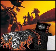 Harley Davidson Tattoo Bedding Collection
