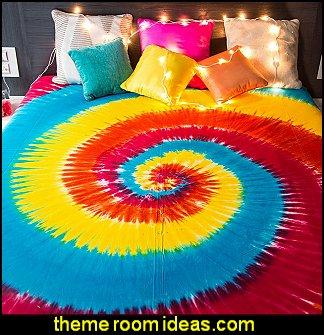 Tie Dye Bedroom Ideas Hippie Style Decorating Ideas