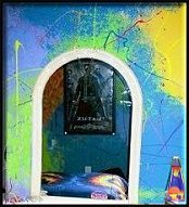 Splatter Paint Walls - decorating teens rooms - Tie Dye Bedroom decorating Ideas ...Funky Cool Bedrooms for Teens - Whether you�re groovin� in the 60s or getting funky in the 70s, we can help you flashback to your favorite era with lava lamps, disco lights, and retro decorations like retro-themed bedroom decorating
