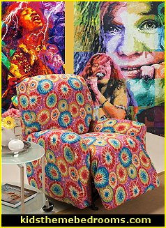 Tie Dye bedroom ideas - hippie style decorating ideas ...