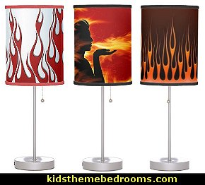 flame theme lamps-flame theme table lamps