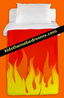 flames bedding-flames theme bedding-red fires flame theme bedding
