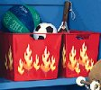 decorate with flames wallies - flame theme decorating ideas